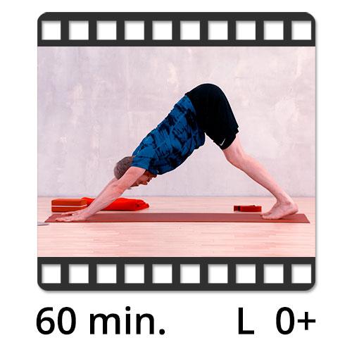 60 min Yoga Video mit Victor Thiele von yogafürdich.tv