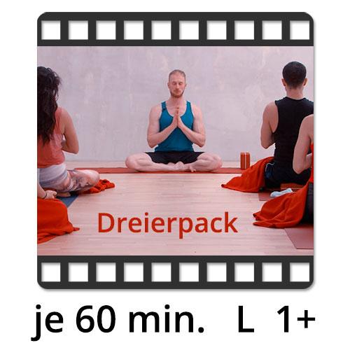 3 Yoga Videos zum Kaufen