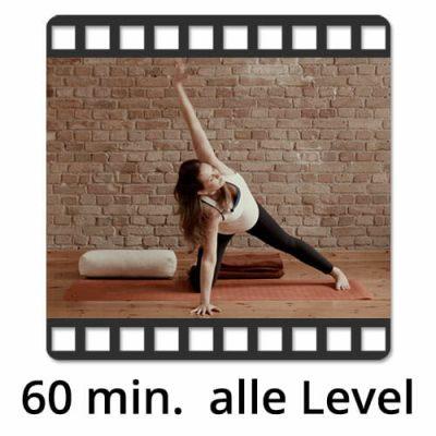yogafürdich Pränatal Yoga Video mit Sylvie