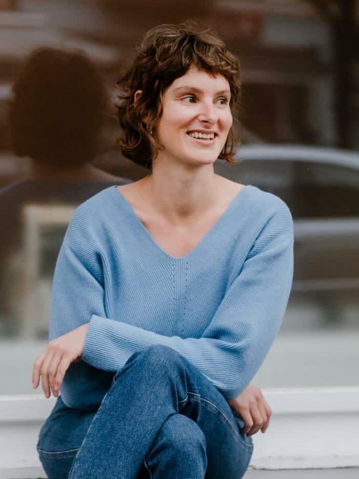 Claire Nusch Yogalehrerin yogafürdich Berlin