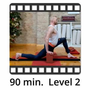 Download Yoga Video Power Vinyasa Flow Level 2 Victor Thiele
