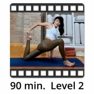 Download Yoga Video Power Vinyasa Flow Level 1-2 Lina Alonso