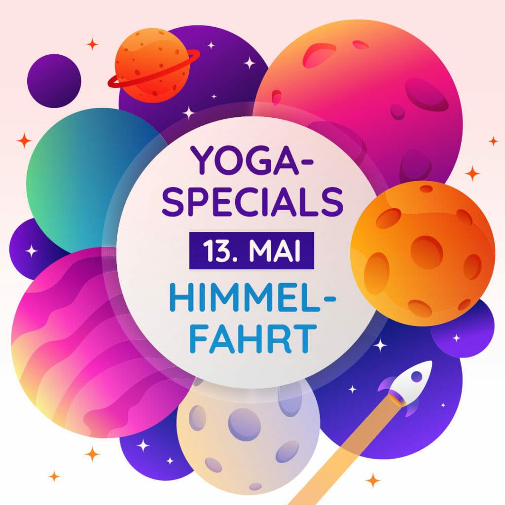 Yoga Specials an Himmelfahrt bei yogafürdich
