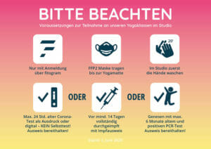 Corona Hygieneplan bei yogafürdich Berlin